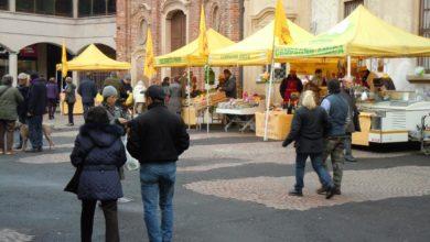 Il mercato contadino di Vigevano