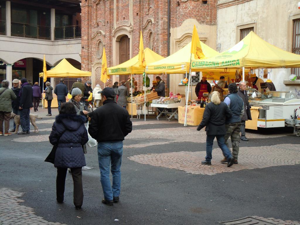 Mercato contadino Vigevano