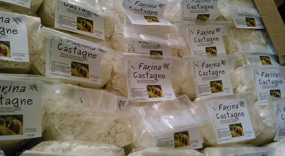 Farina di castagne - BorgoTaro