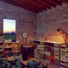 Il quartier generale di Bioincasa, vicino a Castell'Arquato, PC.