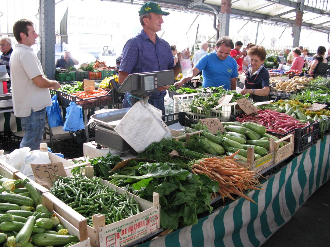 Farmer market di Porta Palazzo. Foto © Jean.