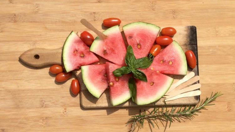 L'anguria è un frutto socievole. Foto @Considerovalore.it.