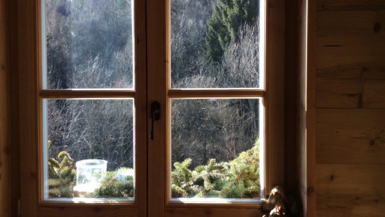 Vista dalla finestra del Mas del Saro