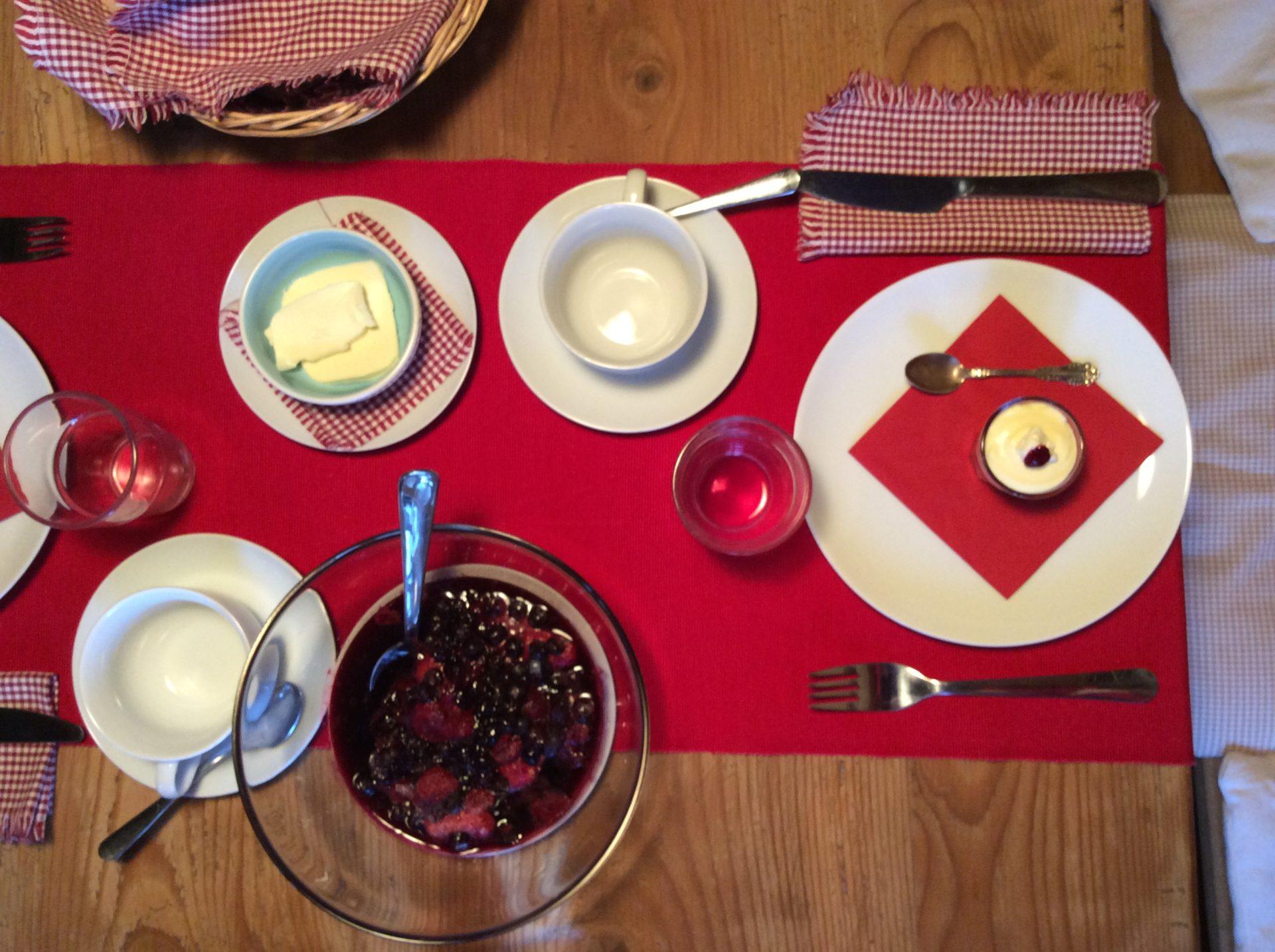B&B Gian: la colazione