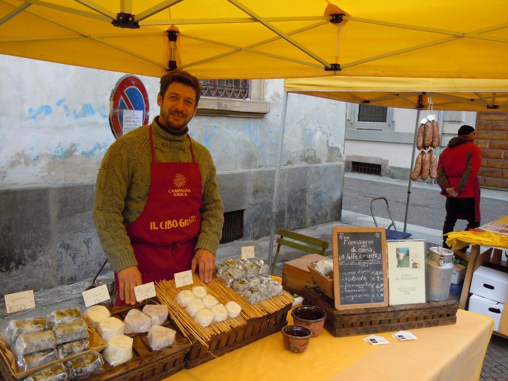 Mercato contadino Vigevano: produttore