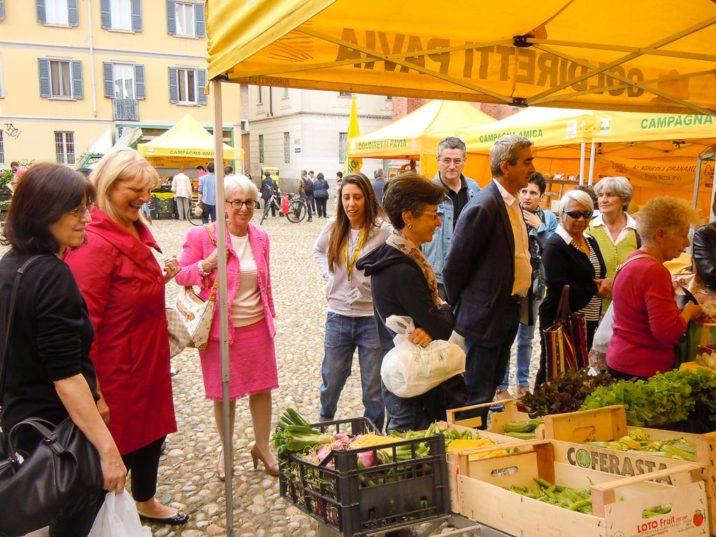 Mercato Campagna Amica Pavia Piazza del Carmine
