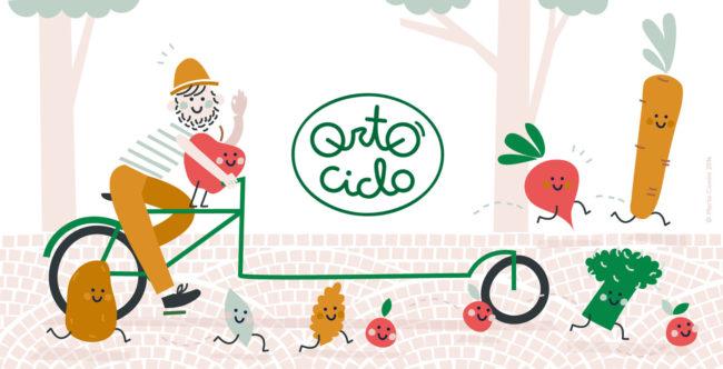 Illustrazione Ortociclo by Maria Comini