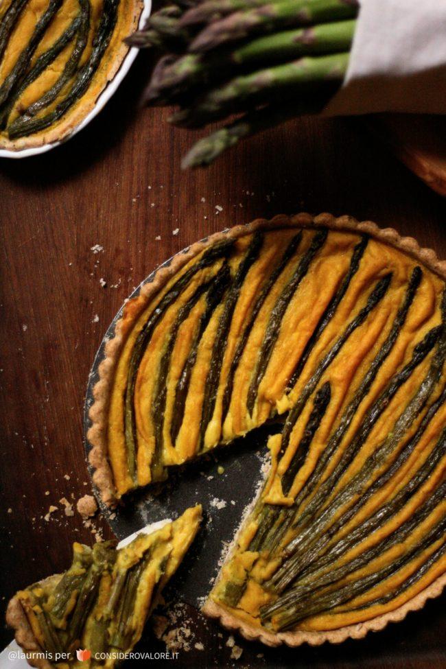 quiche-vegan-asparagi-cannellini-zafferano