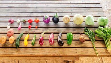 Frutta e verdura di stagione di agosto