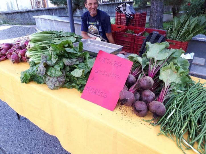 Az. Agricola Verde Lattuga: Paolo Rossini al mercato