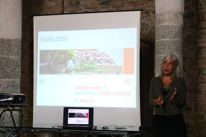 Antonella Gallino parla alla Biofera di Canzo