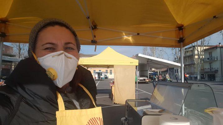 Molino Fuoco - Betty in mascherina anti Corona Virus
