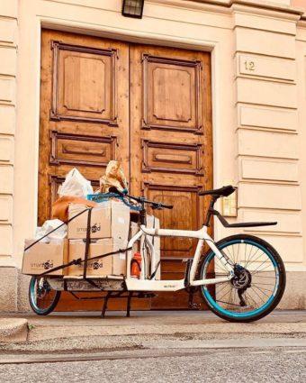 Servizio di Smart Food e Bici Couriers