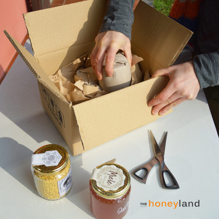 The Honeyland: imballaggi plastic free
